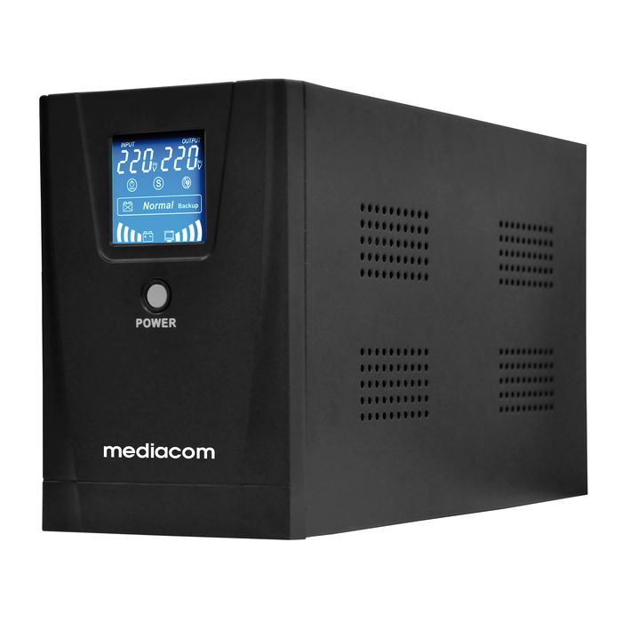 MEDIACOM UPS 850VA CON DISPLAY - thumb - MediaWorld.it