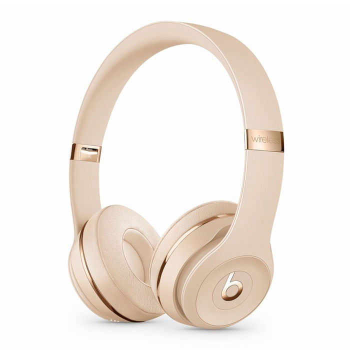 BEATS BY DR.DRE Cuffie Solo3 Wireless - The Beats Icon Collection - Oro satinato - thumb - MediaWorld.it