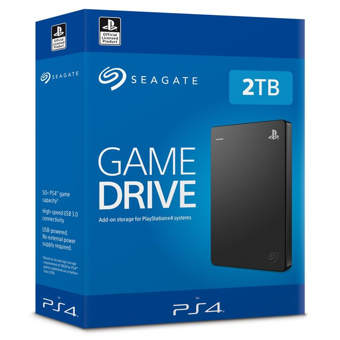 SEAGATE Game Drive for PS4™ Systems 2TB - thumb - MediaWorld.it