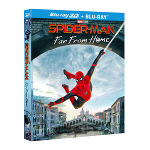 Spider-Man - Far from Home - Blu-Ray  3D - MediaWorld.it