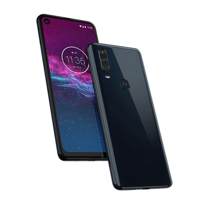 MOTOROLA One Action Denim Blue - thumb - MediaWorld.it