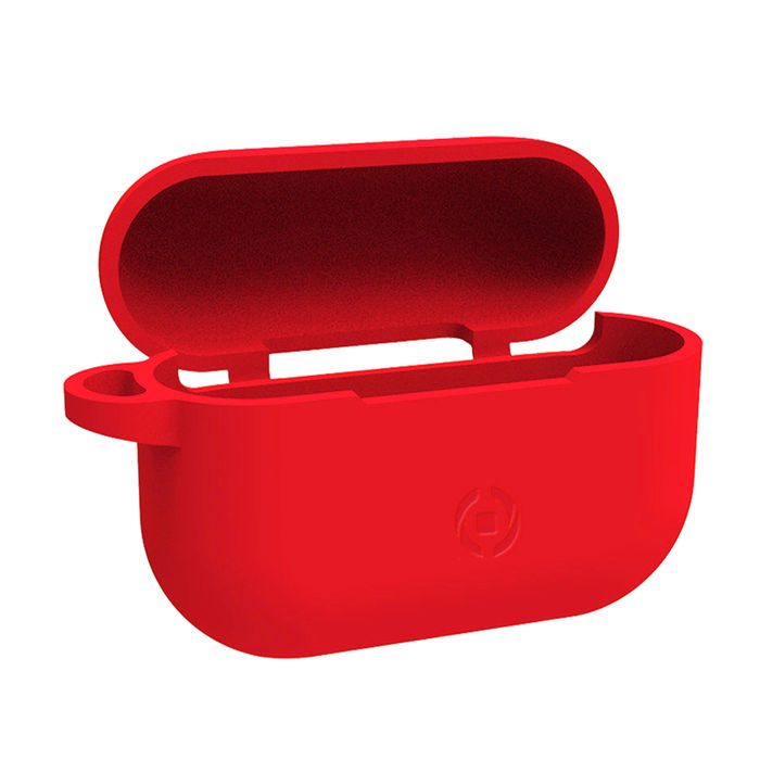 CELLY Aircase per Airpods Pro - Red - thumb - MediaWorld.it