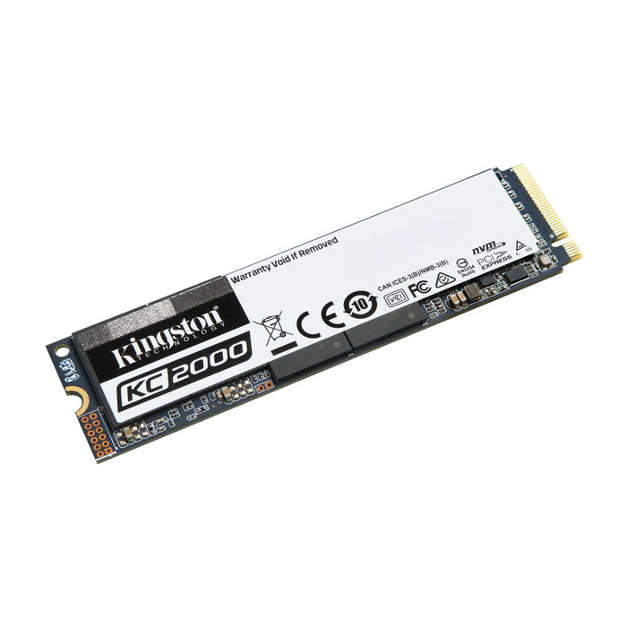 KINGSTON KC2000 SSD 1TB M.2 NVMe 3200/2200 MB/s 3D TLC - thumb - MediaWorld.it