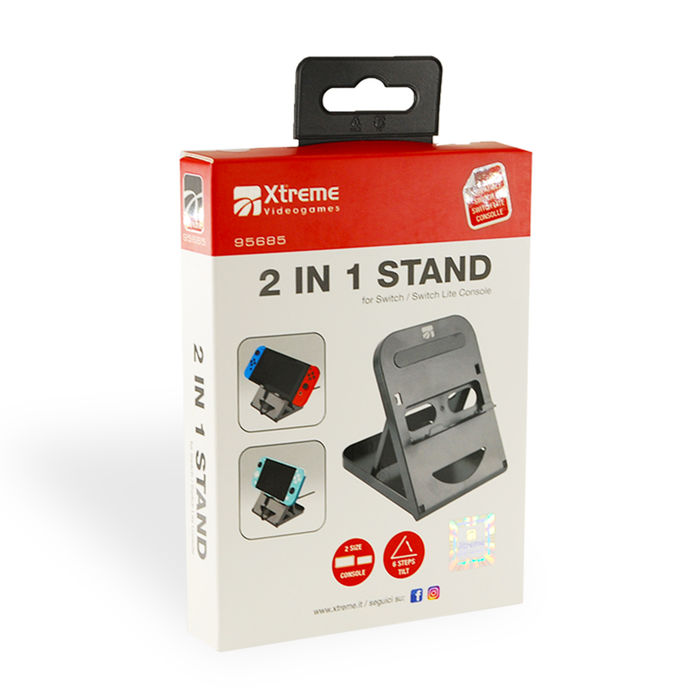 XTREME 2 IN 1 Stand Switch/Switch Lite - thumb - MediaWorld.it