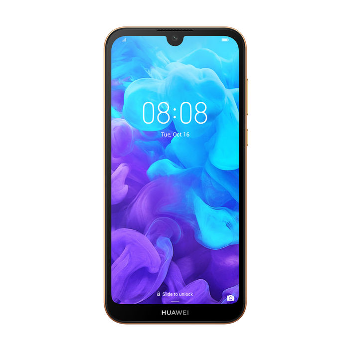 HUAWEI Y5 2019 Amber Brown - thumb - MediaWorld.it