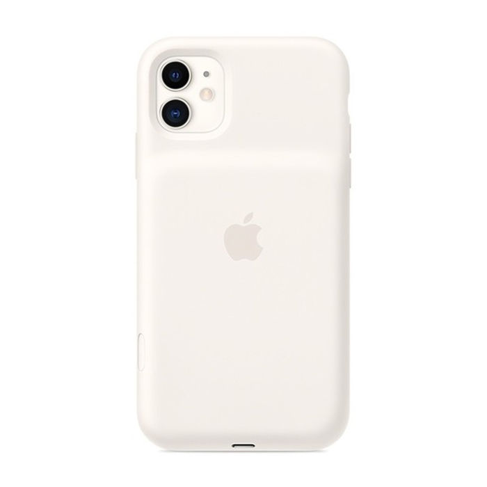 APPLE Smart Battery Case per iPhone 11 - Bianco panna - thumb - MediaWorld.it