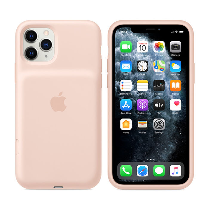 APPLE Smart Battery Case per iPhone 11 Pro - Rosa sabbia - thumb - MediaWorld.it