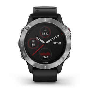 GARMIN Fenix 6 Lunetta Silver con Black Band 47mm - MediaWorld.it