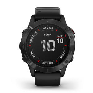 GARMIN Fenix 6 Pro Lunetta Black con Black Band 47mm - thumb - MediaWorld.it