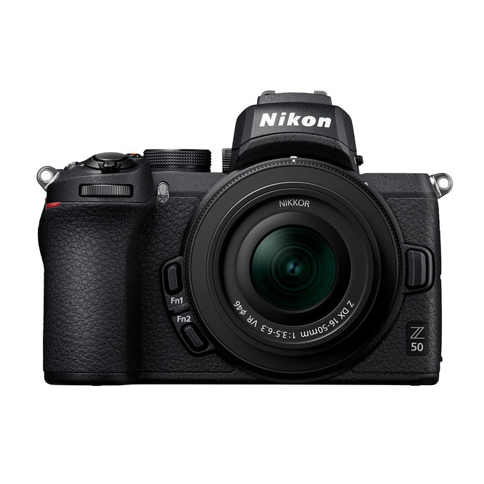 NIKON Z50 + Z DX 16-50VR + FTZ+ LEXAR SD 64GB BLACK - thumb - MediaWorld.it
