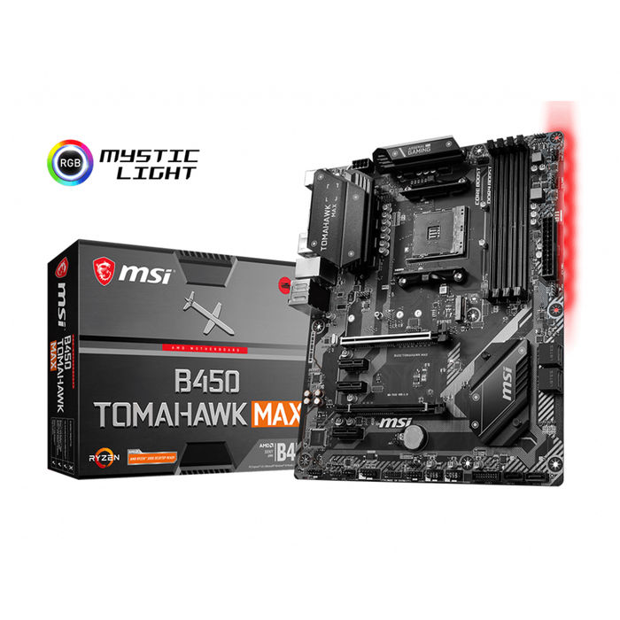 MSI B450 TOMAHAWK MAX - thumb - MediaWorld.it