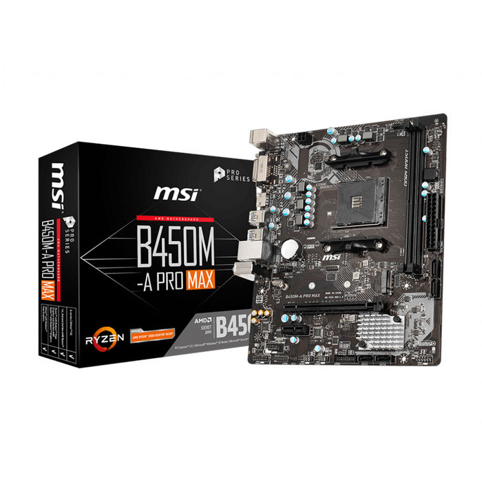 MSI B450M-A PRO MAX - thumb - MediaWorld.it