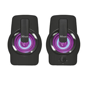 TRUST GEMI 2.0 SPEAKER RGB BLACK - MediaWorld.it