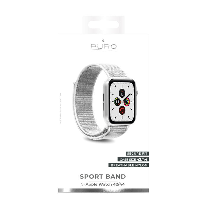 PURO cinturino Sport per Apple Watch (44 mm) Bianco - thumb - MediaWorld.it