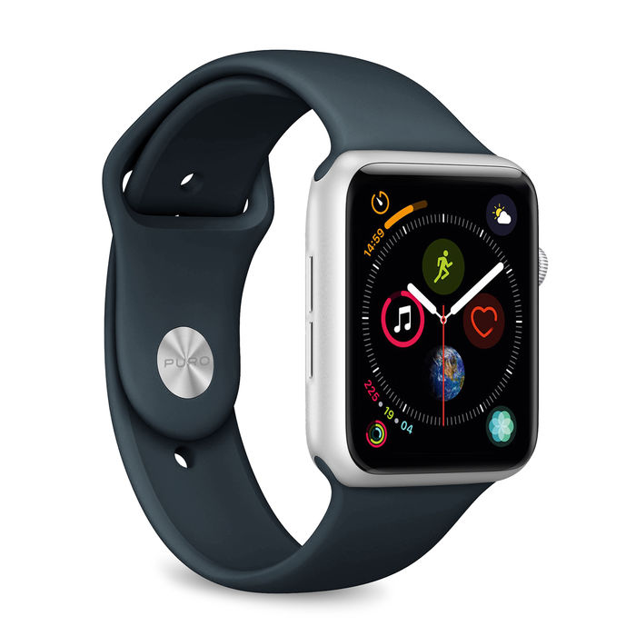 PURO cinturino ICON per Apple Watch (44 mm) Navy Blu - thumb - MediaWorld.it
