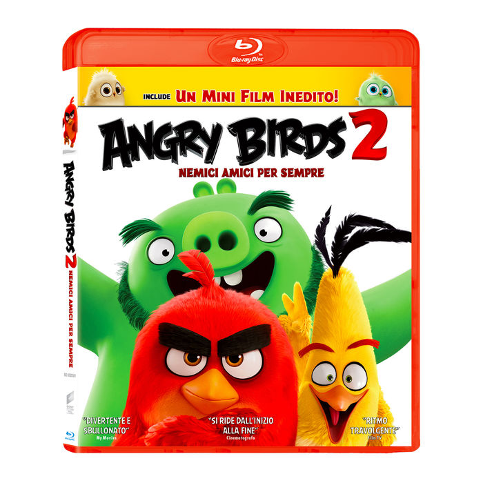Angry Birds 2 - Nemici amici per sempre - Blu-Ray - thumb - MediaWorld.it