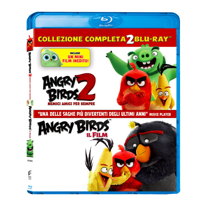 Angry Birds - Collection 1-2 - Blu-Ray - thumb - MediaWorld.it