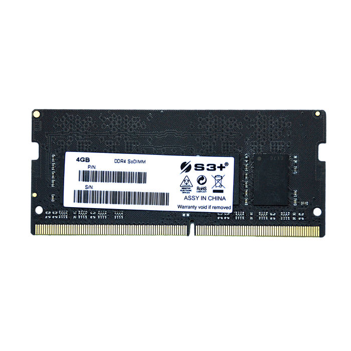 S3+ 4GB S3+ SODIMM DDR4 2666MHZ CL19 - thumb - MediaWorld.it