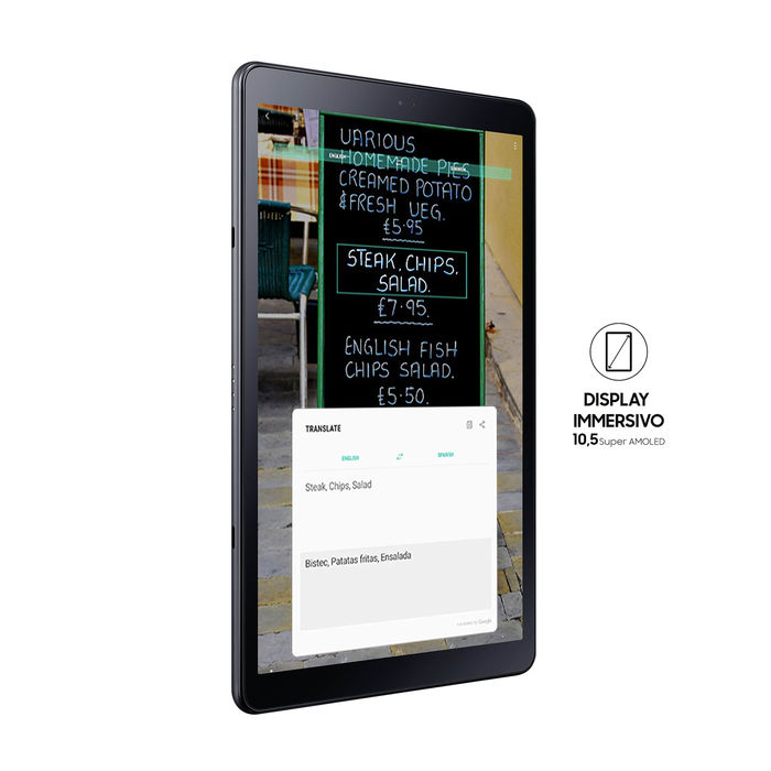 SAMSUNG GALAXY TAB A 10.5 BLACK LTE - thumb - MediaWorld.it