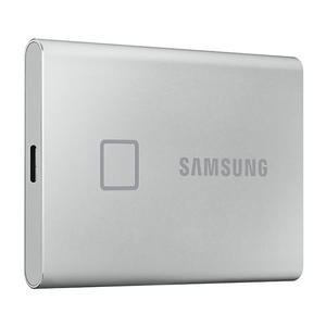 SAMSUNG SSD PORTATILE T7 TOUCH 500GB SILVER - MediaWorld.it