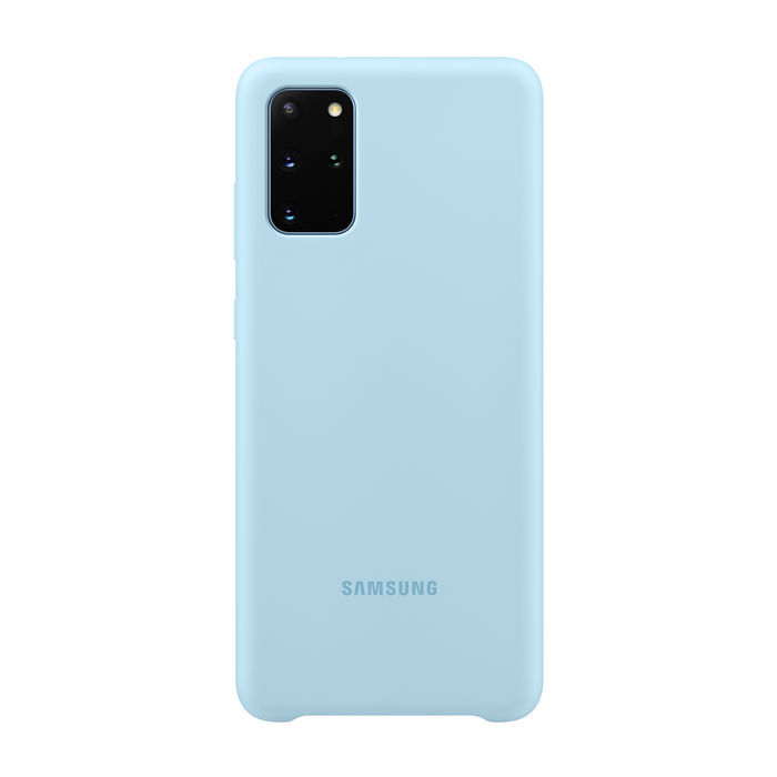 SAMSUNG Cover Silicone Galaxy S20+ Blu Coral - thumb - MediaWorld.it