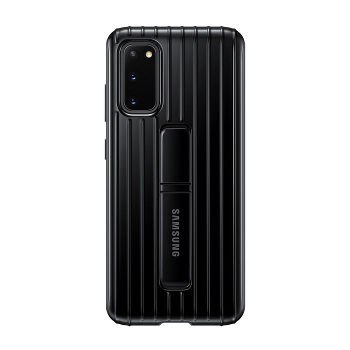 SAMSUNG Protective Standing Cover S20 Black - thumb - MediaWorld.it