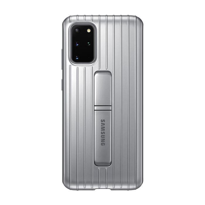 SAMSUNG Protective Standing Cover S20+ Silver - thumb - MediaWorld.it