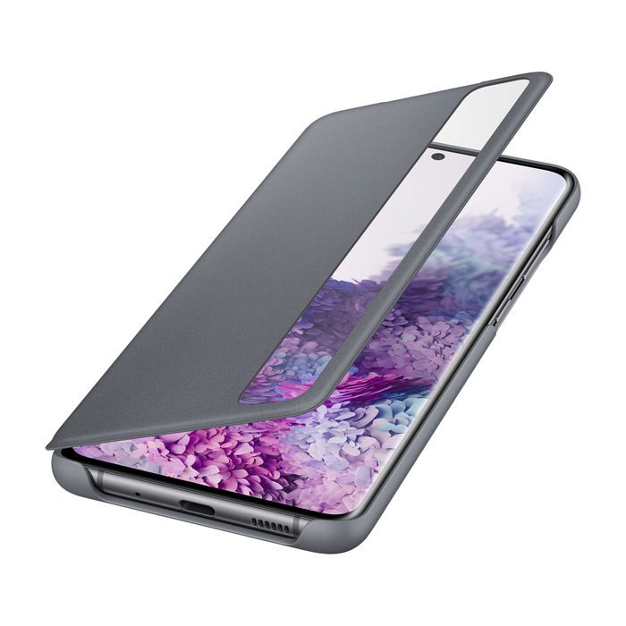 SAMSUNG Cover Clear View Galaxy S20+ Gray - thumb - MediaWorld.it
