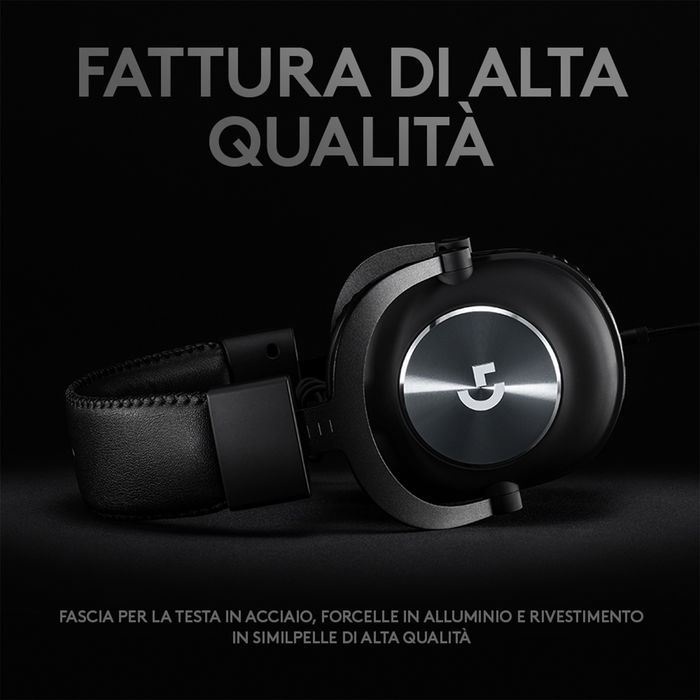 LOGITECH G PRO X HEADSET 7.1 - thumb - MediaWorld.it