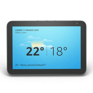 AMAZON Echo Show 8 Black - MediaWorld.it