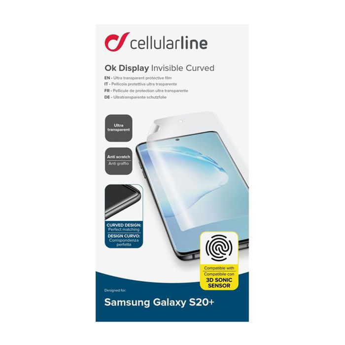 CELLULARLINE Display Invisible Curved - Galaxy S20+ - thumb - MediaWorld.it