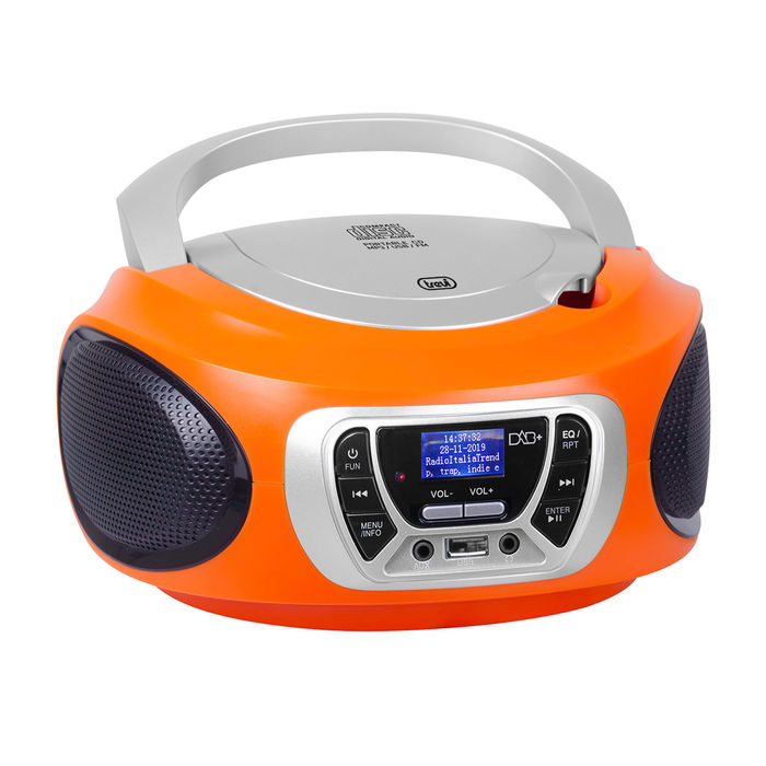 TREVI CMP 510 DAB + CD Arancione - thumb - MediaWorld.it