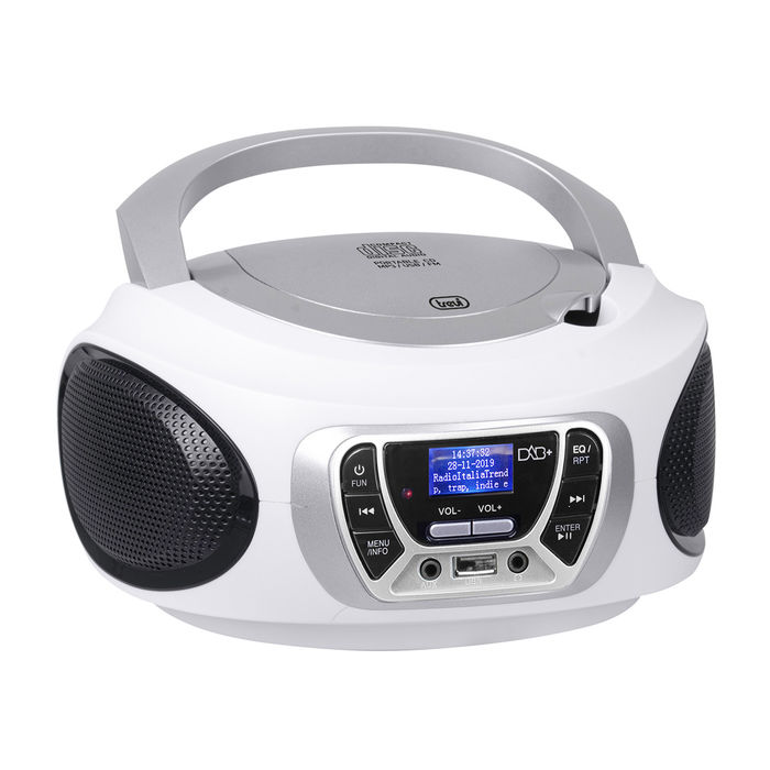 TREVI CMP 510 DAB + CD Bianco - thumb - MediaWorld.it