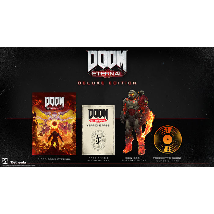 Doom Eternal Deluxe Edition - PS4 - thumb - MediaWorld.it