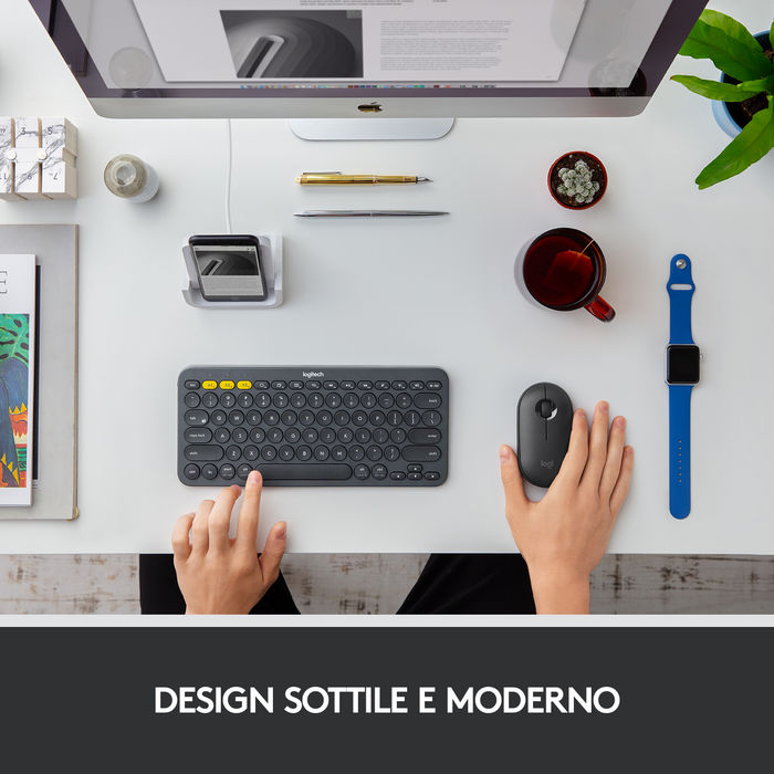 LOGITECH M350 GRAPHITE - thumb - MediaWorld.it