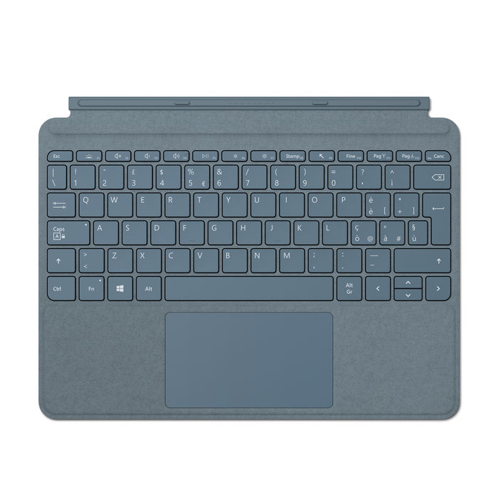 MICROSOFT Go Type Cover Ice Blue - thumb - MediaWorld.it