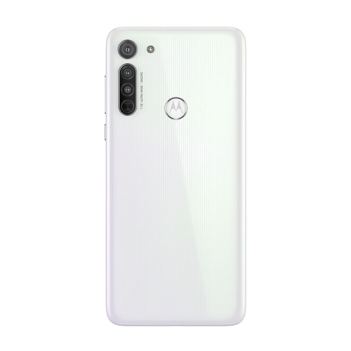 MOTOROLA Moto G8 Pearl White - thumb - MediaWorld.it