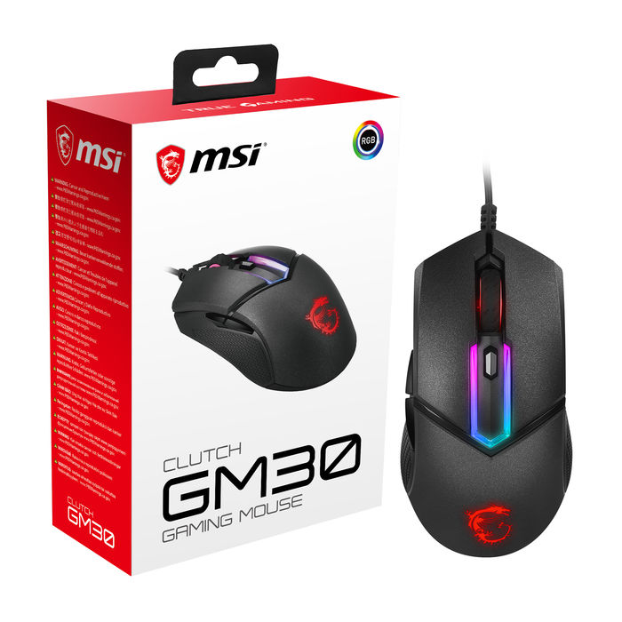 MSI Clutch GM30 - thumb - MediaWorld.it