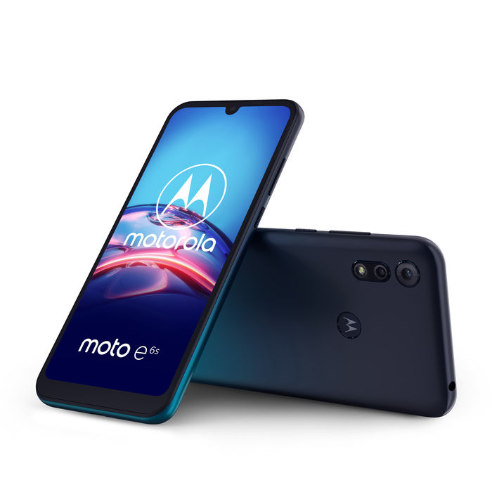 MOTOROLA Moto E6s Peacock Blue - thumb - MediaWorld.it