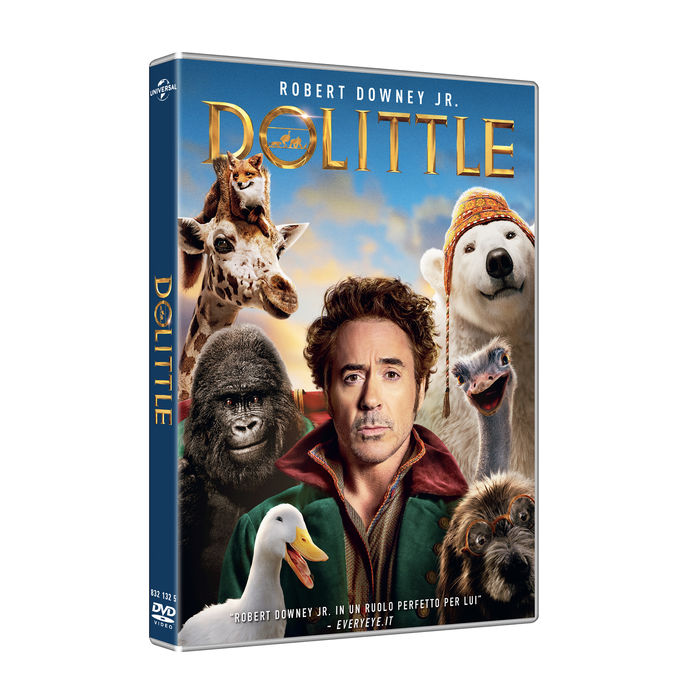 Dolittle - DVD - thumb - MediaWorld.it