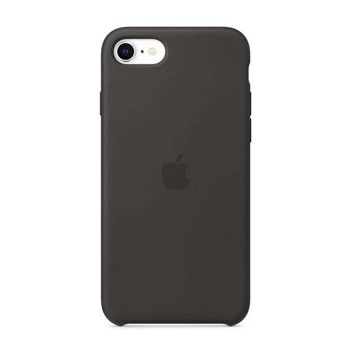 APPLE Custodia in silicone per iPhone SE - Nero - thumb - MediaWorld.it