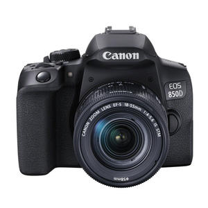 CANON EOS 850D 18-55 F/4-5.6 IS BLACK - MediaWorld.it