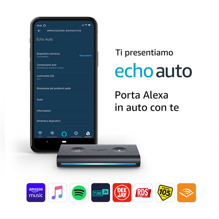 AMAZON ECHO AUTO - thumb - MediaWorld.it