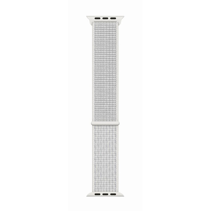 APPLE Cinturino Nike Sport Loop bianco ghiaccio (44 mm) - thumb - MediaWorld.it