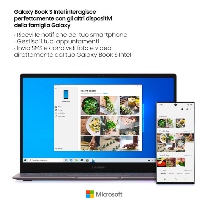 SAMSUNG Galaxy Book S (Intel) 13,3'' Earthy Gold - thumb - MediaWorld.it