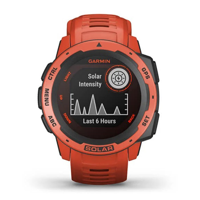 GARMIN Instinct Solar - Flame Red - thumb - MediaWorld.it