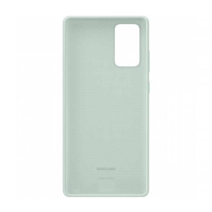 SAMSUNG Galaxy Note20 Silicon Cover Mystic Green - thumb - MediaWorld.it