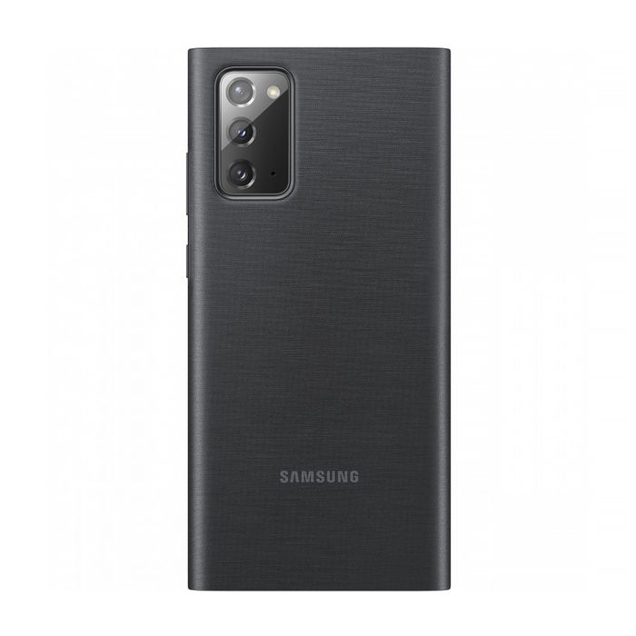 SAMSUNG Galaxy Note20 Clear View Cover Mystic Black - thumb - MediaWorld.it