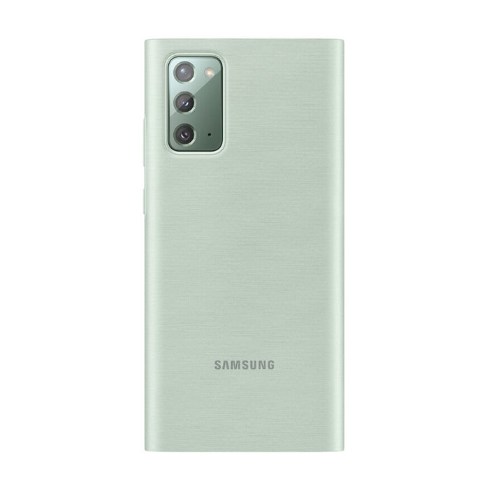 SAMSUNG Galaxy Note20 Clear View Cover Mystic Green - thumb - MediaWorld.it