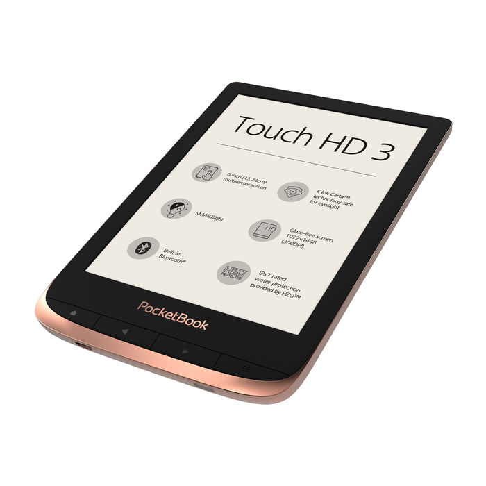 POCKETBOOK Touch HD 3 Spicy Copper - thumb - MediaWorld.it